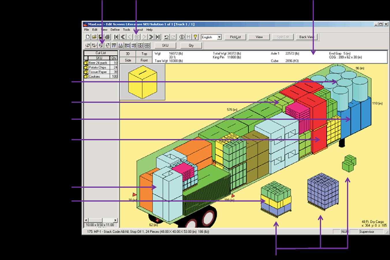 Maxload pro for Software di progettazione domestica di piano terra